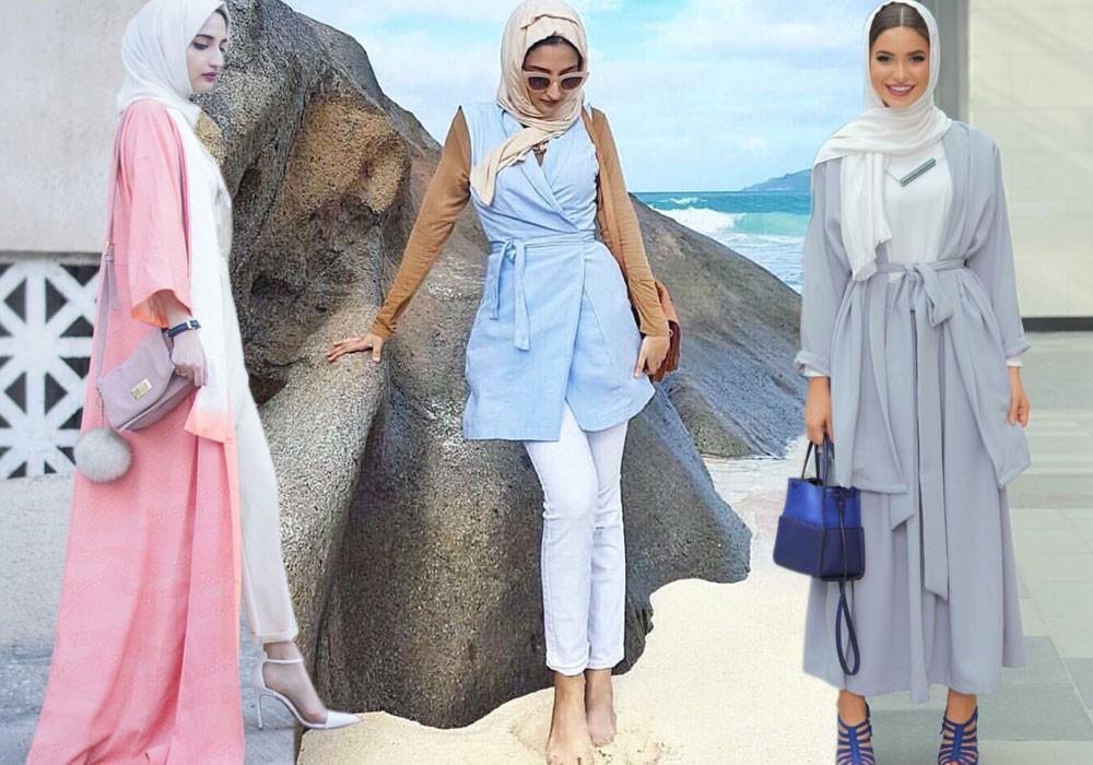 بالصور موضة الحجاب , اجمل ملابس وحجاب للمحجبات 401 1