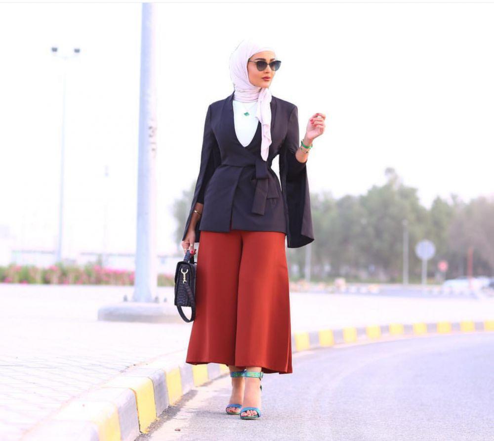 بالصور موضة الحجاب , اجمل ملابس وحجاب للمحجبات 401 2