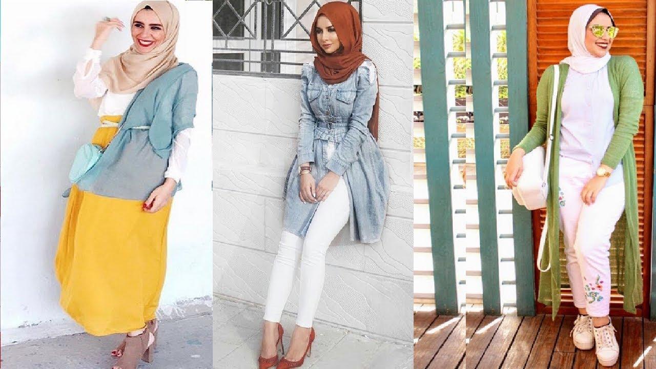 بالصور موضة الحجاب , اجمل ملابس وحجاب للمحجبات 401 3
