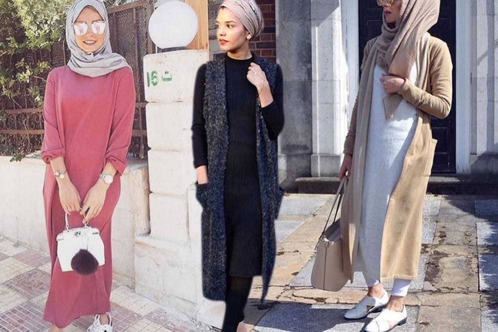 بالصور ملابس شتوية للمحجبات , الشتاء وملابس السيدات المحجبات 430 10