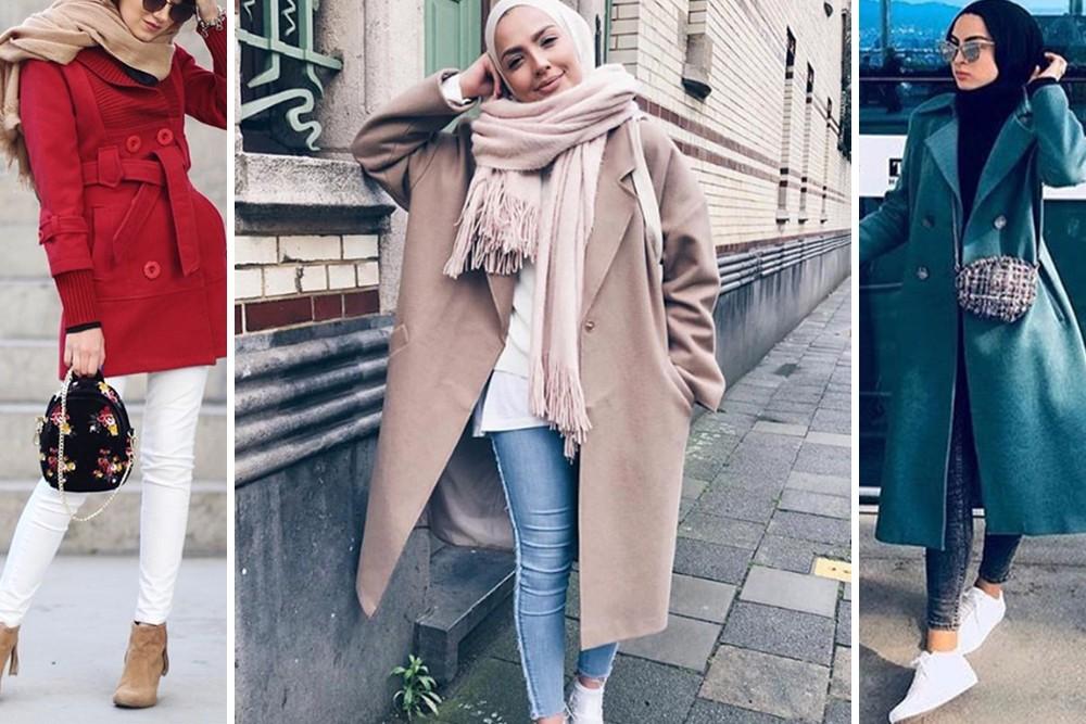 بالصور ملابس شتوية للمحجبات , الشتاء وملابس السيدات المحجبات 430 2