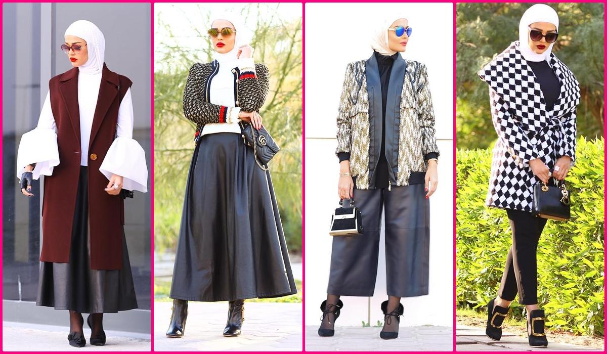 بالصور ملابس شتوية للمحجبات , الشتاء وملابس السيدات المحجبات 430 3