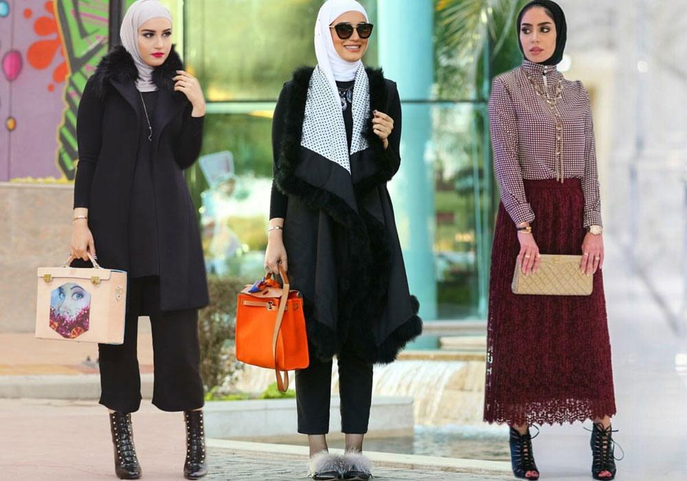 بالصور ملابس شتوية للمحجبات , الشتاء وملابس السيدات المحجبات 430 4