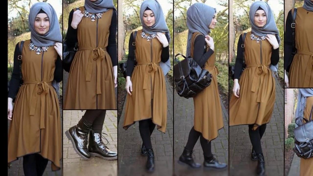 بالصور ملابس شتوية للمحجبات , الشتاء وملابس السيدات المحجبات 430 8
