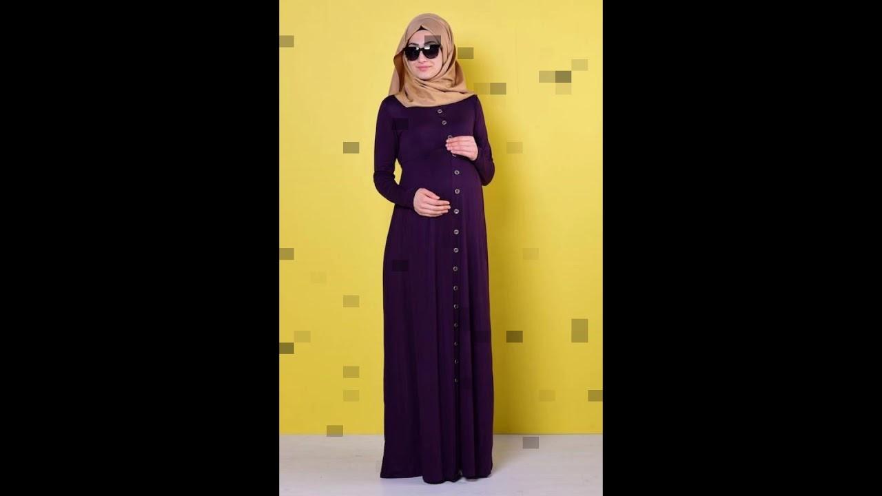 بالصور ملابس للحوامل المحجبات , الحجاب مع الحمل والتوافق فى الملابس 436 14