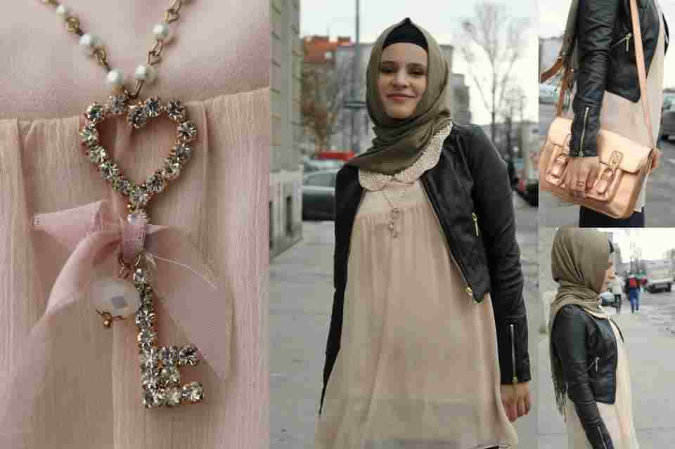 بالصور ملابس للحوامل المحجبات , الحجاب مع الحمل والتوافق فى الملابس 436 15
