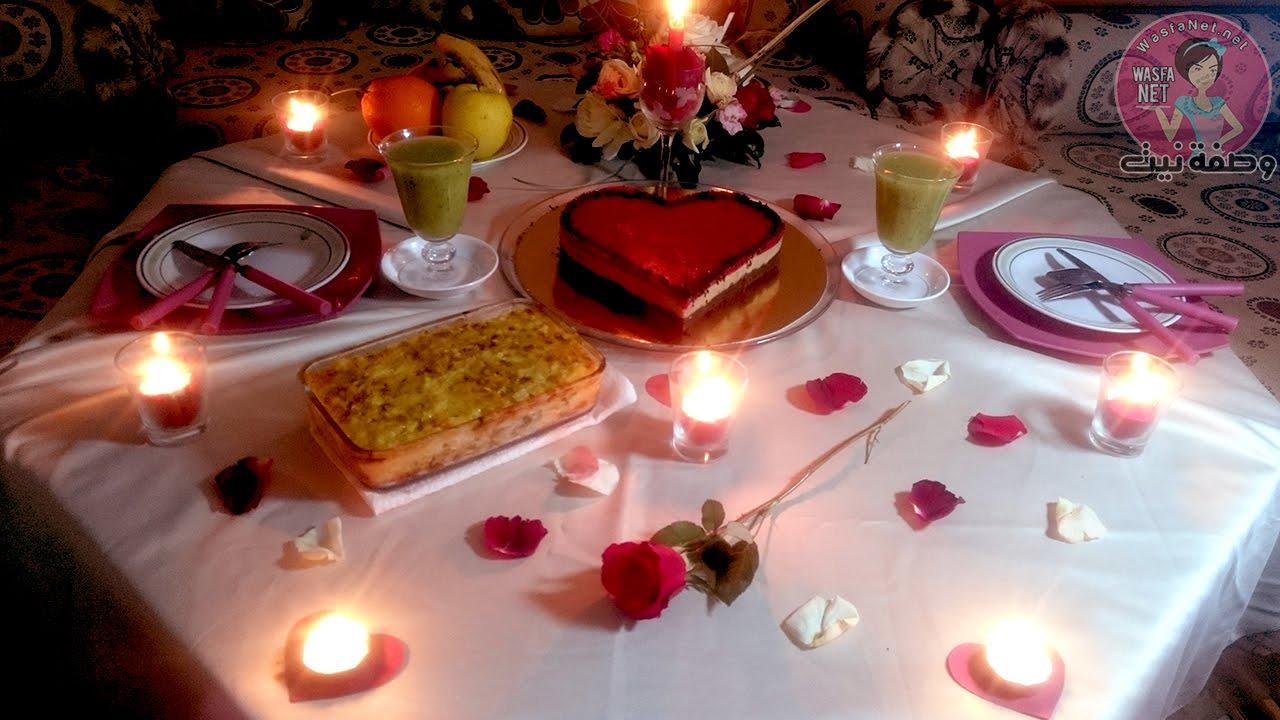 بالصور افكار لعشاء رومانسي , افكار بسيطه لعشاء رومانسي مع الحبيب 455 5