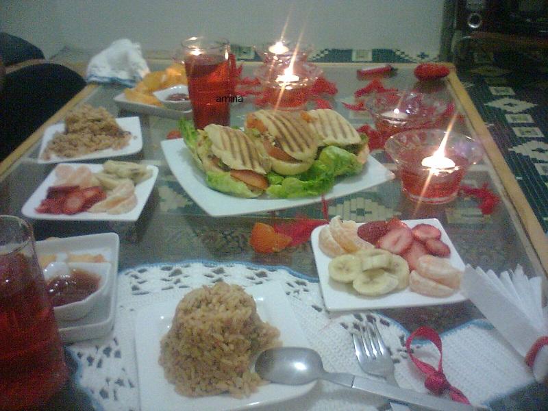 بالصور افكار لعشاء رومانسي , افكار بسيطه لعشاء رومانسي مع الحبيب 455 7