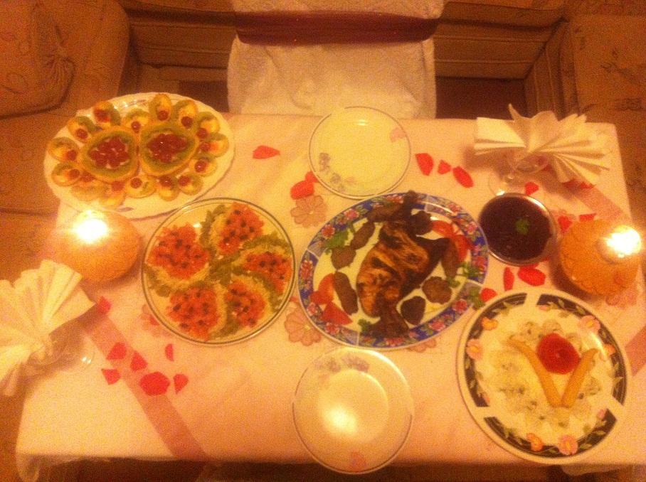 بالصور افكار لعشاء رومانسي , افكار بسيطه لعشاء رومانسي مع الحبيب 455 9