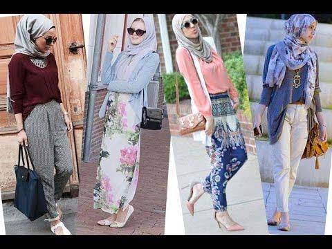 بالصور ملابس محجبات كاجوال , ملابس انيقه للحجاب 4554 12