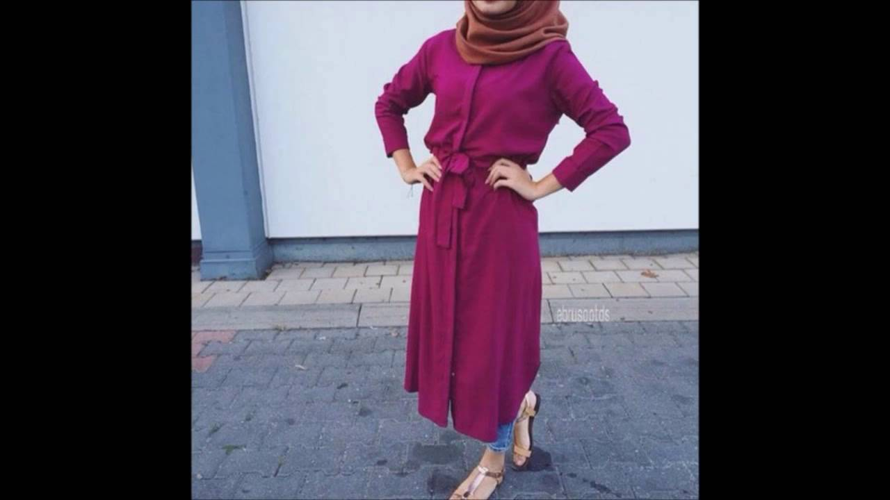 بالصور ملابس محجبات كاجوال , ملابس انيقه للحجاب 4554 3