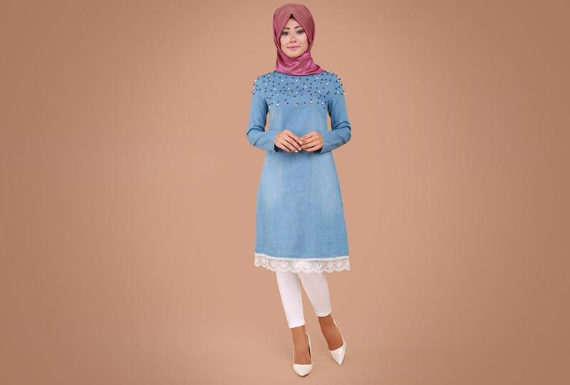 بالصور ملابس محجبات كاجوال , ملابس انيقه للحجاب 4554 4