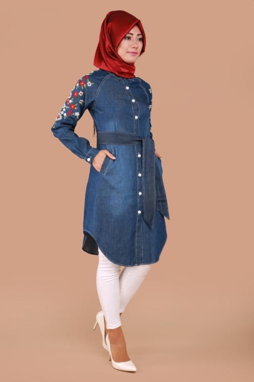 بالصور ملابس محجبات كاجوال , ملابس انيقه للحجاب 4554 6