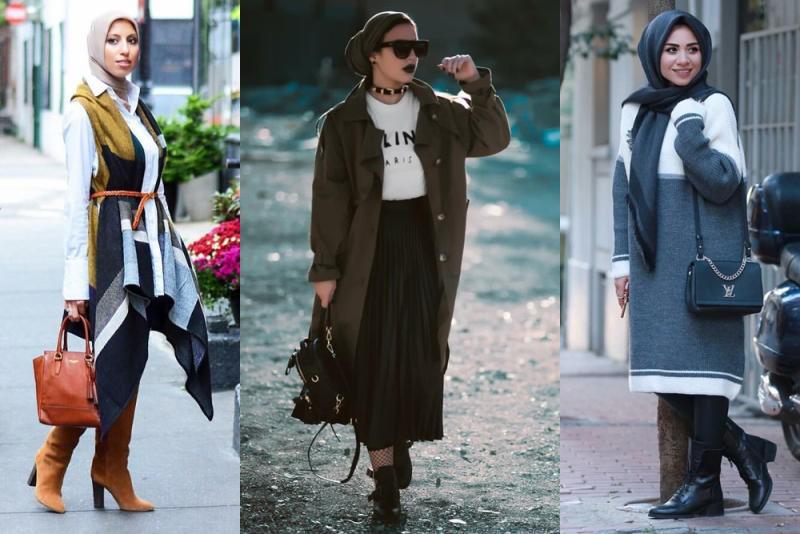 بالصور ملابس محجبات كاجوال , ملابس انيقه للحجاب 4554 7