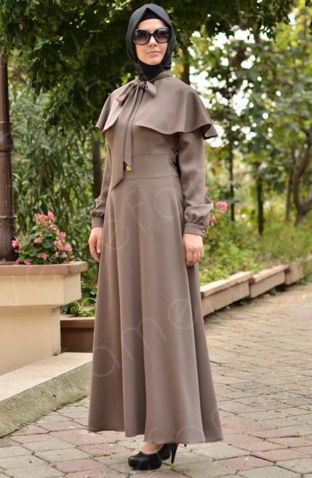بالصور ملابس محجبات كاجوال , ملابس انيقه للحجاب 4554 9
