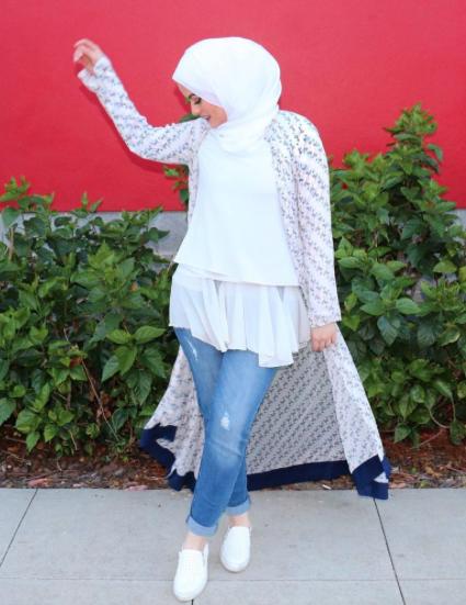 بالصور ملابس محجبات كاجوال , ملابس انيقه للحجاب 4554