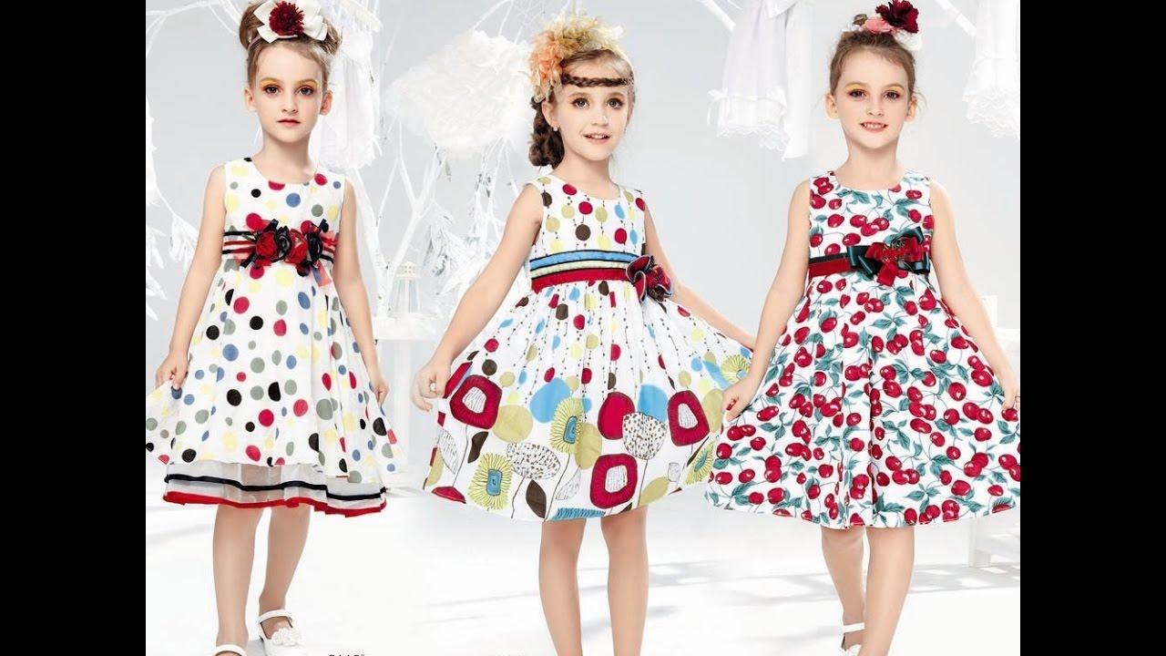بالصور فساتين بناتي , تفصيلات جديده لاجمل فساتين البنات 464 10