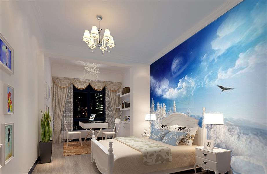 بالصور ورق جدران غرف نوم , ورق الحوائط المناسب لغرف النوم 516 3