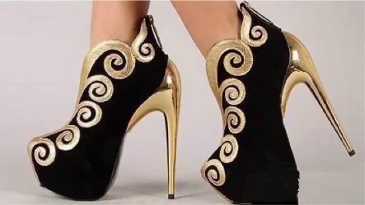 بالصور احذية حريمى , الاحذية النسائيه واجدد التصميمات و الموديلات 542 11