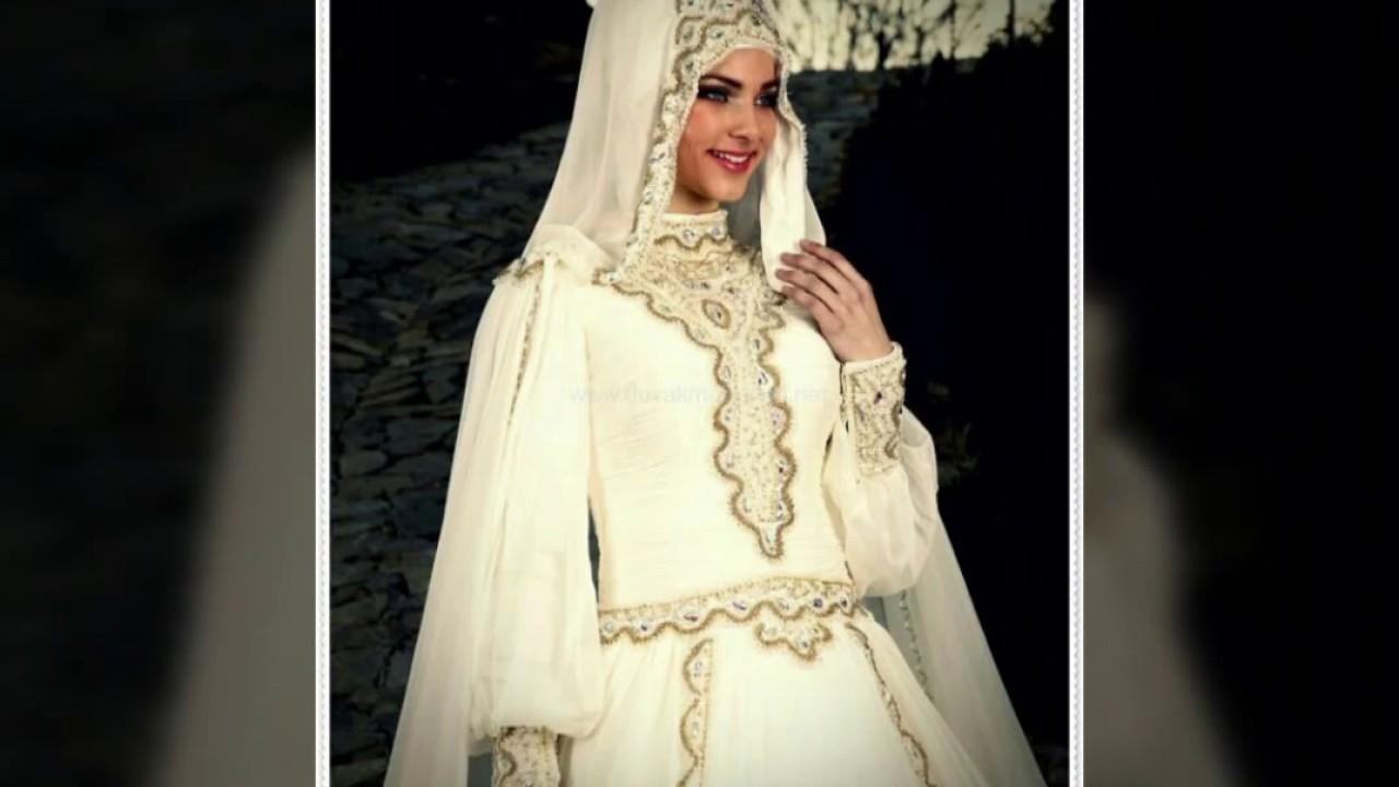 بالصور فساتين اعراس للمحجبات , الحجاب وظهورك يوم الزفاف 615 9