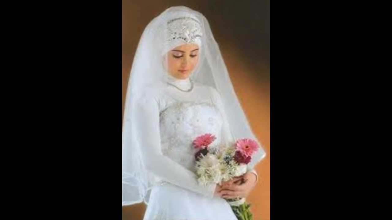 بالصور فساتين اعراس للمحجبات , الحجاب وظهورك يوم الزفاف 615