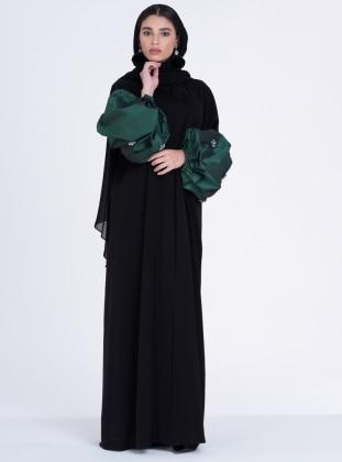 بالصور موديلات عبايات بناتى , ملابس الفتاة الانيقة والعفيفة 2772 11