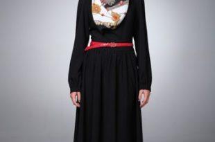صورة موديلات عبايات بناتى , ملابس الفتاة الانيقة والعفيفة