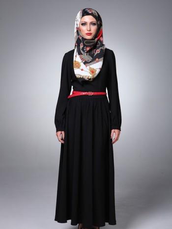 بالصور موديلات عبايات بناتى , ملابس الفتاة الانيقة والعفيفة 2772