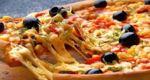 بالصور طريقة عمل البيتزا بالصور خطوة خطوة , طرق عمل اشهى الاكلات 3132 1 310x165