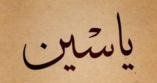 صوره معنى اسم ياسين , معانى اجمل الاسماء