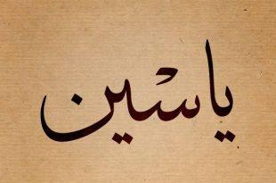 بالصور معنى اسم ياسين , معانى اجمل الاسماء 3972 3 310x205