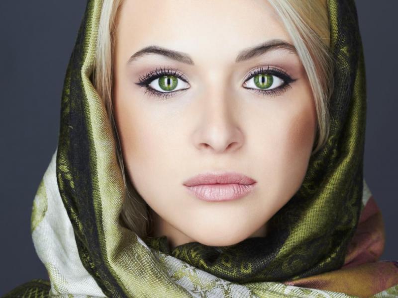 بالصور صور عيون خضر , اجمل خلفيات عين باللون الاخضر 6661 9