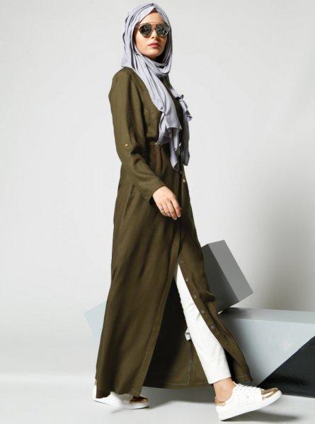 صورة ملابس تركية للمحجبات , موديلات تركيه للمحجبات 3113 3