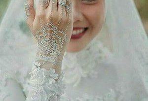 صورة فساتين زفاف محجبات , اروع فساتين الزفاف