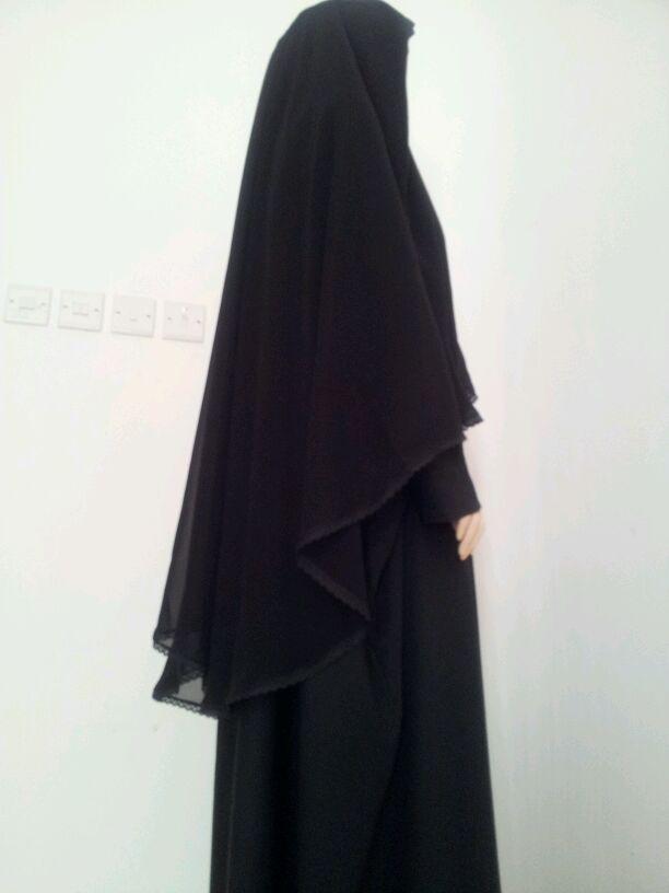 بالصور عباية الراس , تصاميم جديدة لعبايات الراس الاسلامية 4118 3