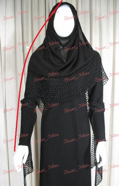 بالصور عباية الراس , تصاميم جديدة لعبايات الراس الاسلامية 4118 4