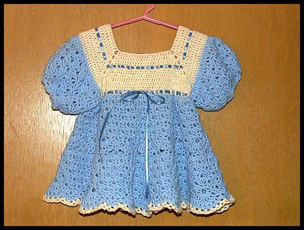 بالصور فساتين اطفال كروشيه , اجمل فستان اطفال كروشية 4130 14