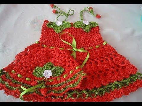 بالصور فساتين اطفال كروشيه , اجمل فستان اطفال كروشية 4130 3