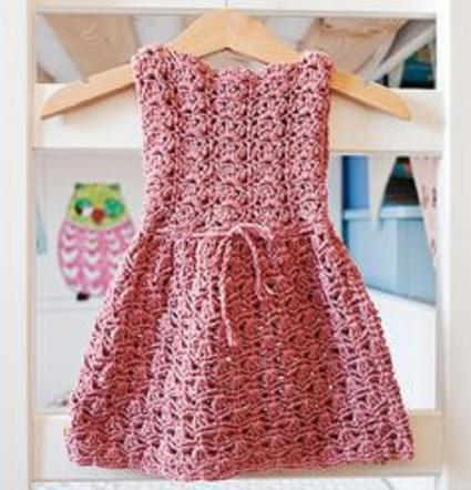 بالصور فساتين اطفال كروشيه , اجمل فستان اطفال كروشية 4130 4