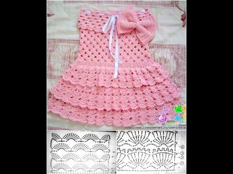 بالصور فساتين اطفال كروشيه , اجمل فستان اطفال كروشية 4130 5