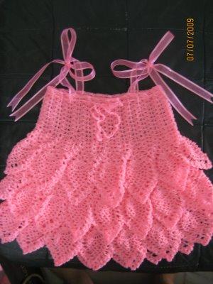بالصور فساتين اطفال كروشيه , اجمل فستان اطفال كروشية 4130 7
