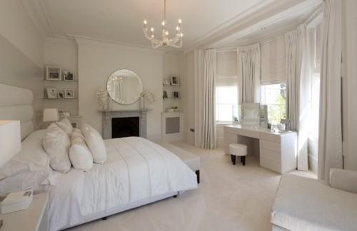 بالصور غرف نوم بيضاء , احدث تصميمات لغرف النوم البيضاء 866 8