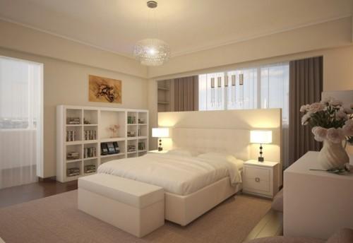 بالصور غرف نوم بيضاء , احدث تصميمات لغرف النوم البيضاء 866 9