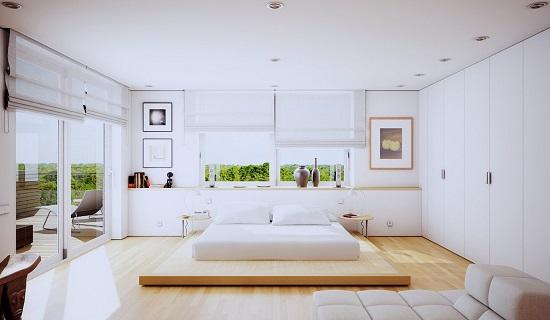 بالصور غرف نوم بيضاء , احدث تصميمات لغرف النوم البيضاء