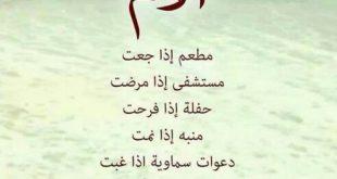 بالصور قصيدة عن الام مكتوبة , اشعار وعبارات جميلة عن الام 871 13 310x165