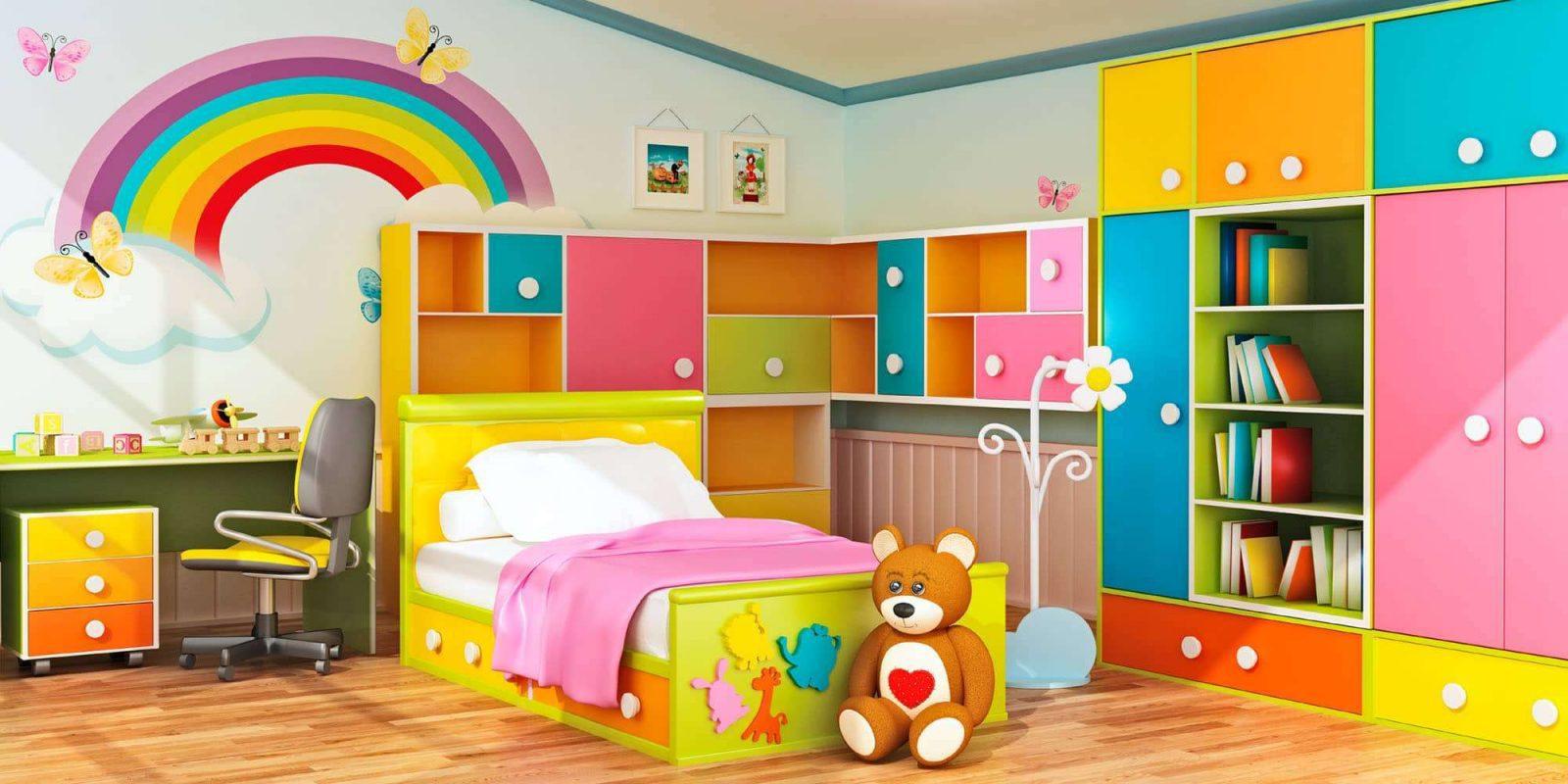 صورة غرف نوم اطفال مودرن , احدث تصميمات غرف الاطفال المودرن