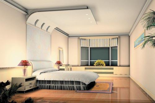 بالصور ديكورات جبس غرف نوم , تصميمات جبس مودرن لغرف النوم 6640 5
