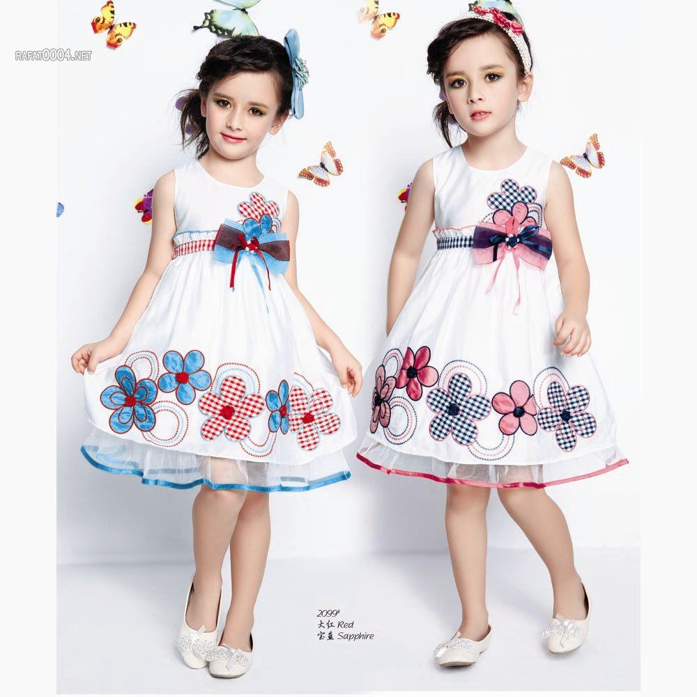 بالصور فساتين اطفال قصيرة , فساتين اطفال قصيرة روعة 11450 9