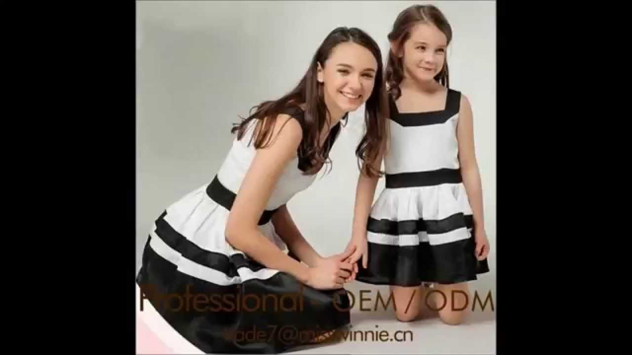 بالصور ام وبنتها بنفس اللبس , اجمل ملابس بين الام و بنتها 11651 10