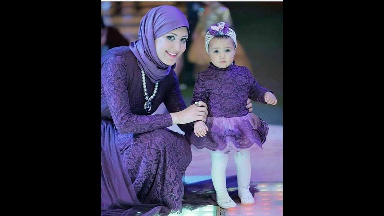 بالصور ام وبنتها بنفس اللبس , اجمل ملابس بين الام و بنتها 11651 11